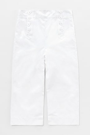 Mariner Crops, Wide Leg Linen Cropped Trousers - Seasalt