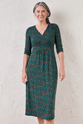 Lake Dress - A Flattering Bamboo Midi Silhouette Dress - Seasalt