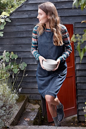 Art Book Pinafore Dress