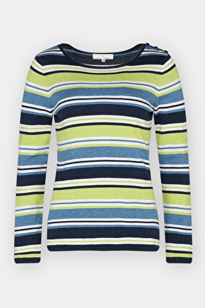 Nautically Inspired Cotton Jumper - Seasalt