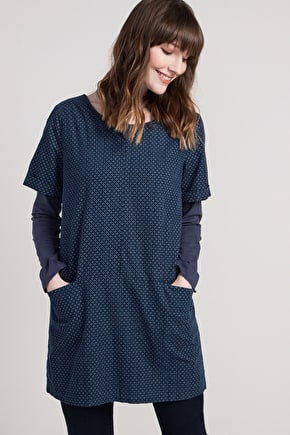Glendurgan Tunic, Beautiful Relaxed Corduroy - Seasalt
