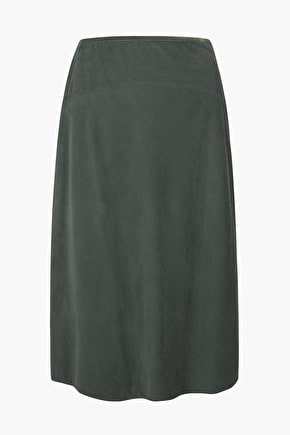 Midi Length Cotton Cord Skirt, Bolatherick Skirt - Seasalt