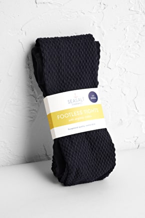 Footless Tights, Soft Organic Cotton Tights - Seasalt