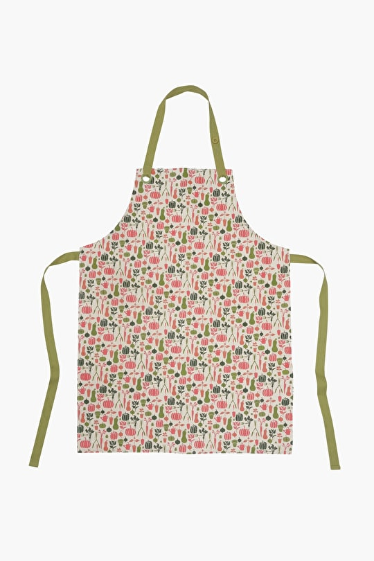 Oil Cloth Apron