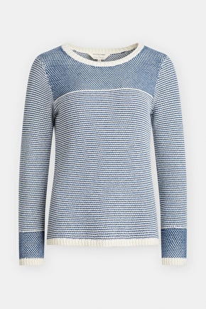 Evensong Jumper, Cotton Yarn Mid-weight Knit - Seasalt Cornwall