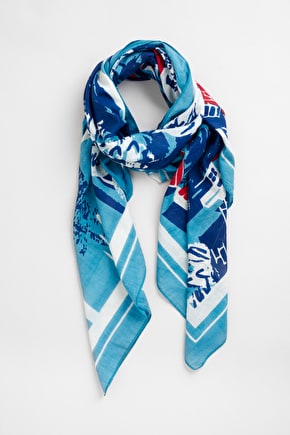 Wrap Up In A Cornish Landscape. Unique Seasalt Scarves