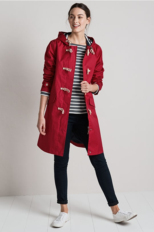 Extra Long Seafolly Jacket, Waterproof and Breathable - Seasalt