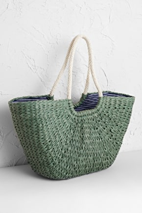 Texture Basket, 100% Paper. Reusable Shopping Bag - Seasalt Cornwall