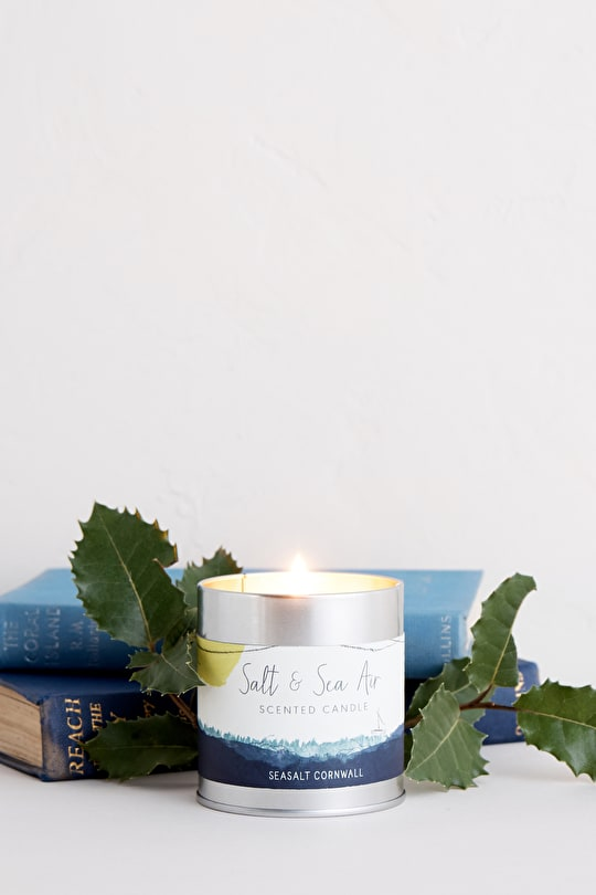 Salt & Sea Air Scented Candle - Seasalt