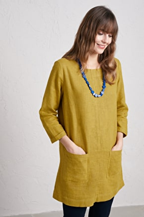 Porthmeor Cove Tunic, Ramie Cotton Blend - Seasalt Cornwall