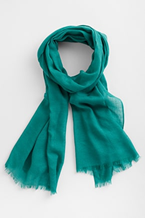 Wool and Silk Pretty Useful Ladies Scarf - Seasalt