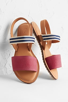 Plein Air Sandal - Leather Mid Strap Sandal - Seasalt Cornwall