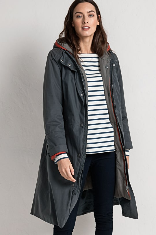 Flagship Coat | Long waterproof padded coat | Seasalt