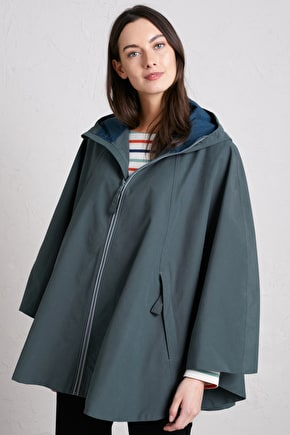 Polruan Cape, Waterproof Adaptive Cycling Coat - Seasalt Cornwall