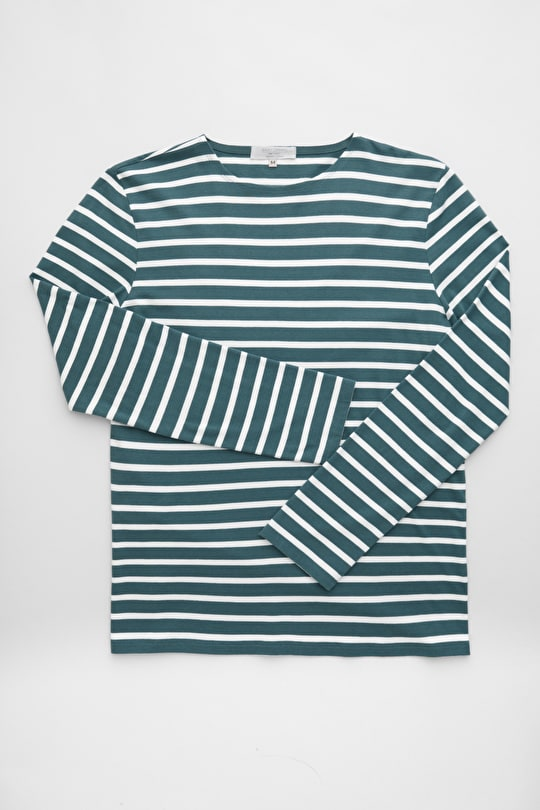 Men's Sailor Shirt, Breton Striped Cotton Top