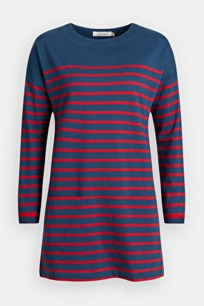 Script Writer Tunic, Striped Organic Cotton Tunic - Seasalt Cornwall