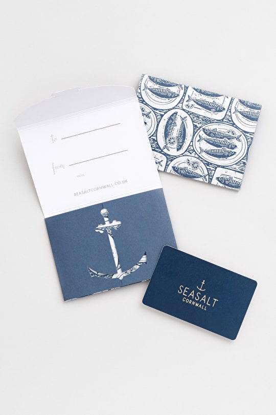 Gift Cards - The perfect present for your loved one  - Seasalt Cornwall