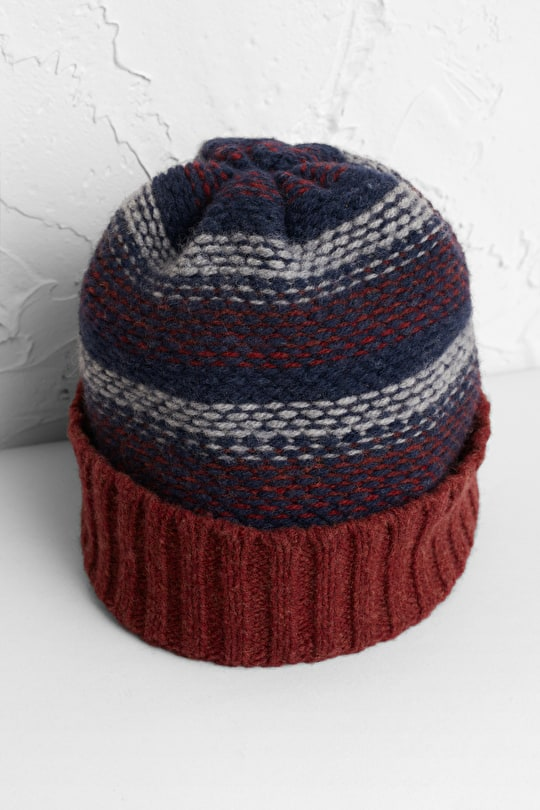 Naturalist Hat, Chunky Merino Wool Hat - Seasalt