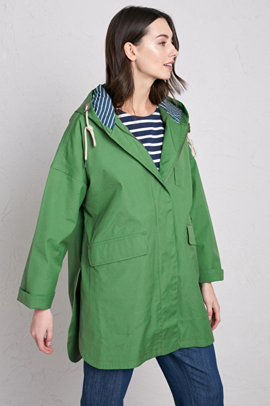 Beachcombing Coat. Oversized, Adaptive, Fully waterproof Coat