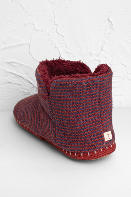 Cosy Slipper Booties, Knitted Boot Slippers - Seasalt