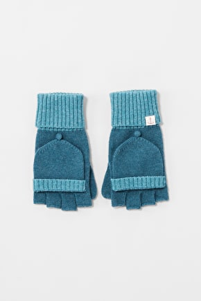 Soft Merion Cashmere Mix Winter Mittens - Seasalt