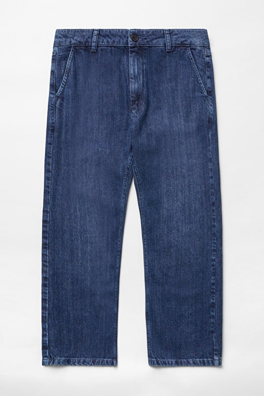 Viburnum Trousers, Straight Leg Denim Jeans