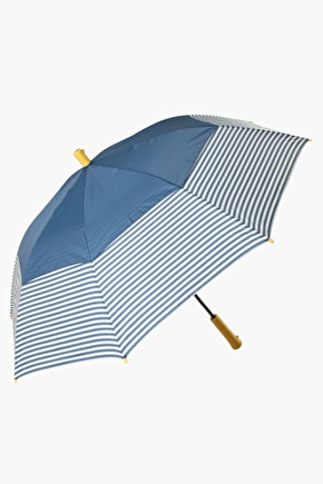 Striped Storm Stopper Umbrella - Seasalt