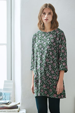 Gallery Opening Tunic, Drapey Cotton Vicose Tunic - Seasalt Cornwall