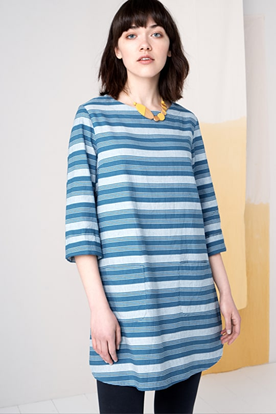 Calenick Tunic, Cotton and Linen blend | Seasalt