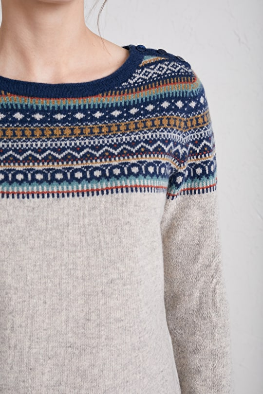 Scandi Knit Jumper, Designed In Cornwall - Seasalt