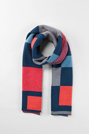 Soft, Warm Cashmere & Merino Blend Winter Scarf - Seasalt