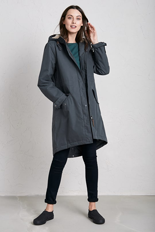 Plant Hunter Raincoat. Waterproof Womens Parka - Seasalt