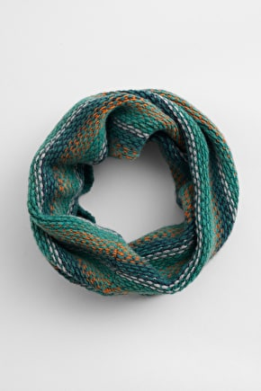 Abundant Snood, Soft Merino Wool Knit - Seasalt