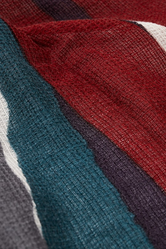 Beautiful Wool Scarf. In Abstract Cornish Prints - Seasalt
