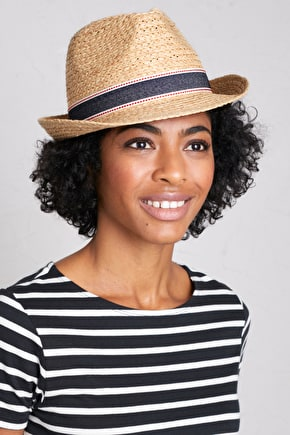 Lookout Place Hat - Vintage Raffia Hat - Seasalt Cornwall