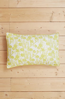 Print & Plain Cotton Pillowcase