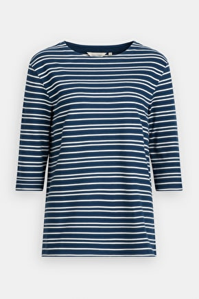 Water Pipit Top, Striped Nautical Cotton Top - Seasalt Cornwall