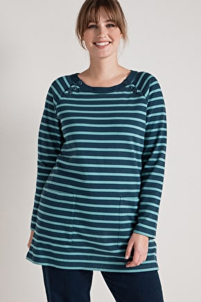 Very Soft Jersey Tunic Top. Inspired By Cornwall - Seasalt