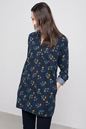 Cotton Cord Shirt Dress. In Unique Seasalt Prints