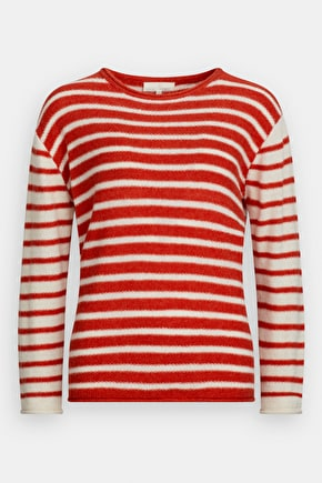 Bell Jumper, Striped Wool Knit - Seasalt Cornwall