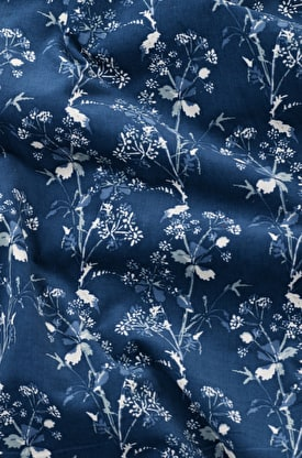 Printed Needlecord Fabric