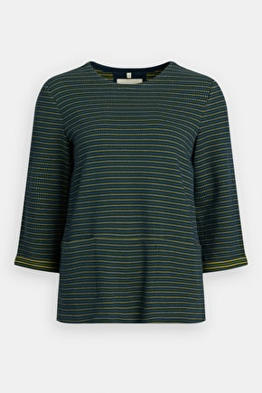 Overture Sweatshirt, Heavyweight Cotton Striped Top - Seasalt Cornwall