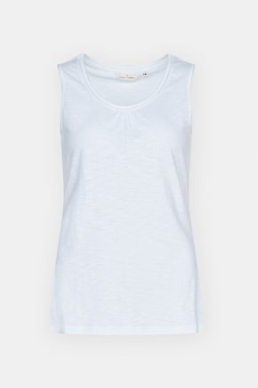 Chy Organic Cotton Vest Top- Seasalt