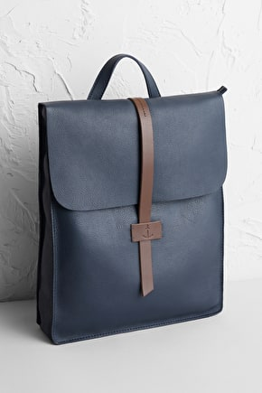 Convertible Rucksack, Leather Tote Bag