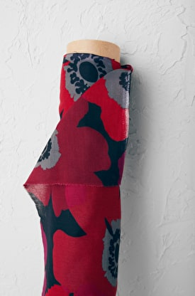 Printed Lightweight Cotton Voile Fabric