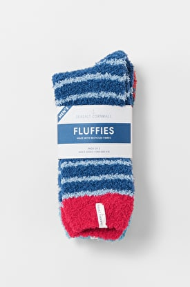 Fluffies Pack of 2 Men's