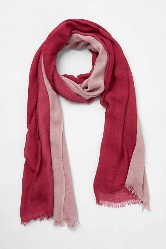 Diary Scarf, Ombre Effect Cashmere Scarf