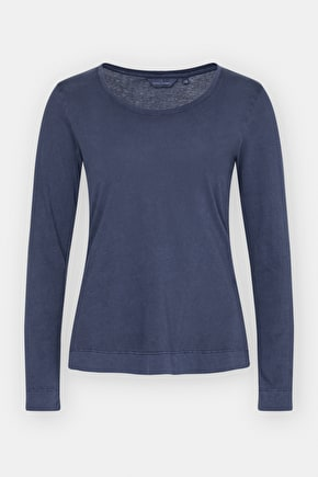 Beautifully Soft Long Sleeved Cotton Top - Seasalt