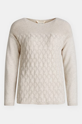 Harbour Beach Jumper, 100% Cotton Knit - Seasalt Cornwall