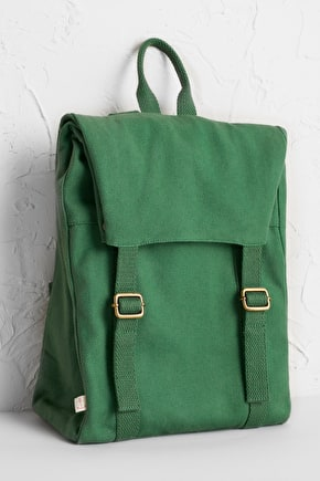 Bookshelf Rucksack, Cotton Canvas Backpack - Seasalt